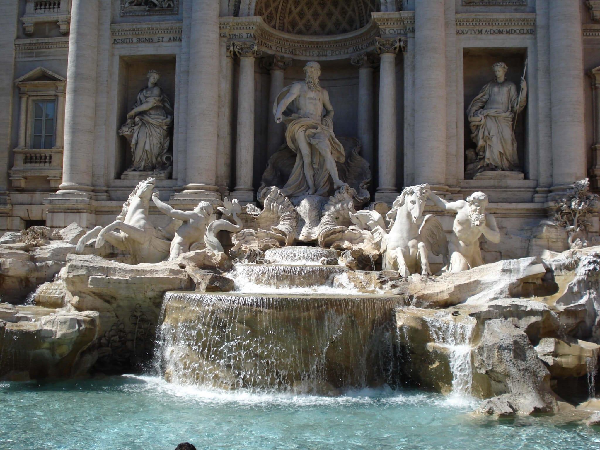 Богатый фонтан