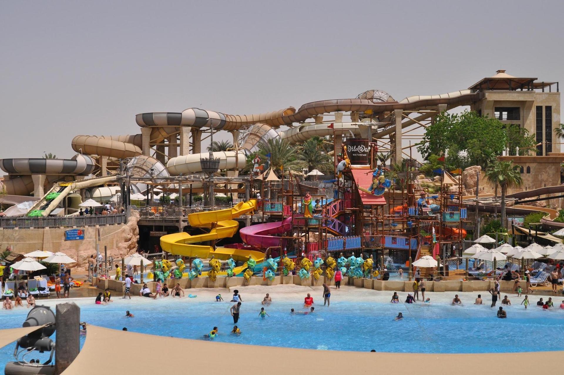 Безкоштовний необмежений доступ в аквапарк Wild Wadi Waterpark ™ - один з найбільш відомих тематичних аквапарків світу