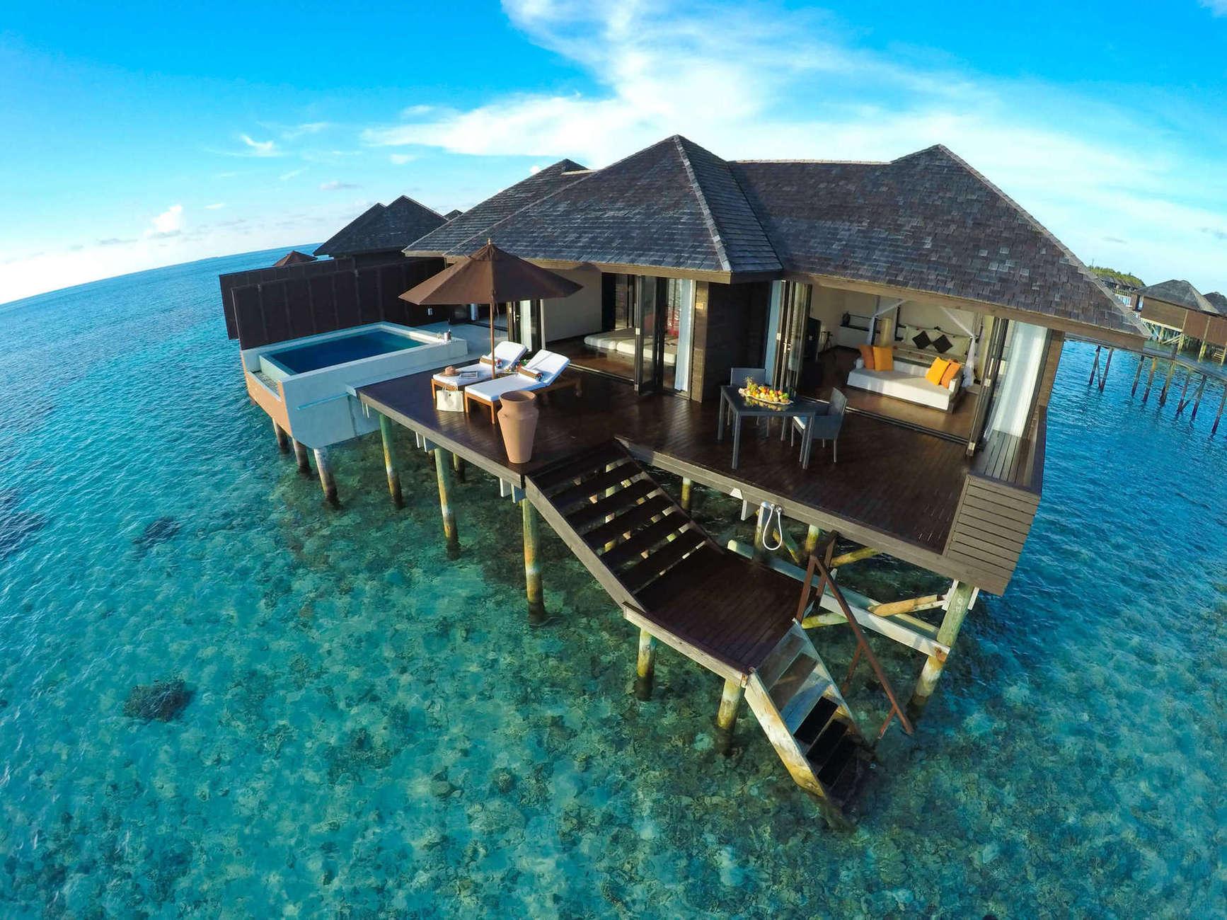 Новые виллы Beach Suite, Beach Suite with Pool, Beach Residence, которые открыли свои двери для гостей в ноябре 2019