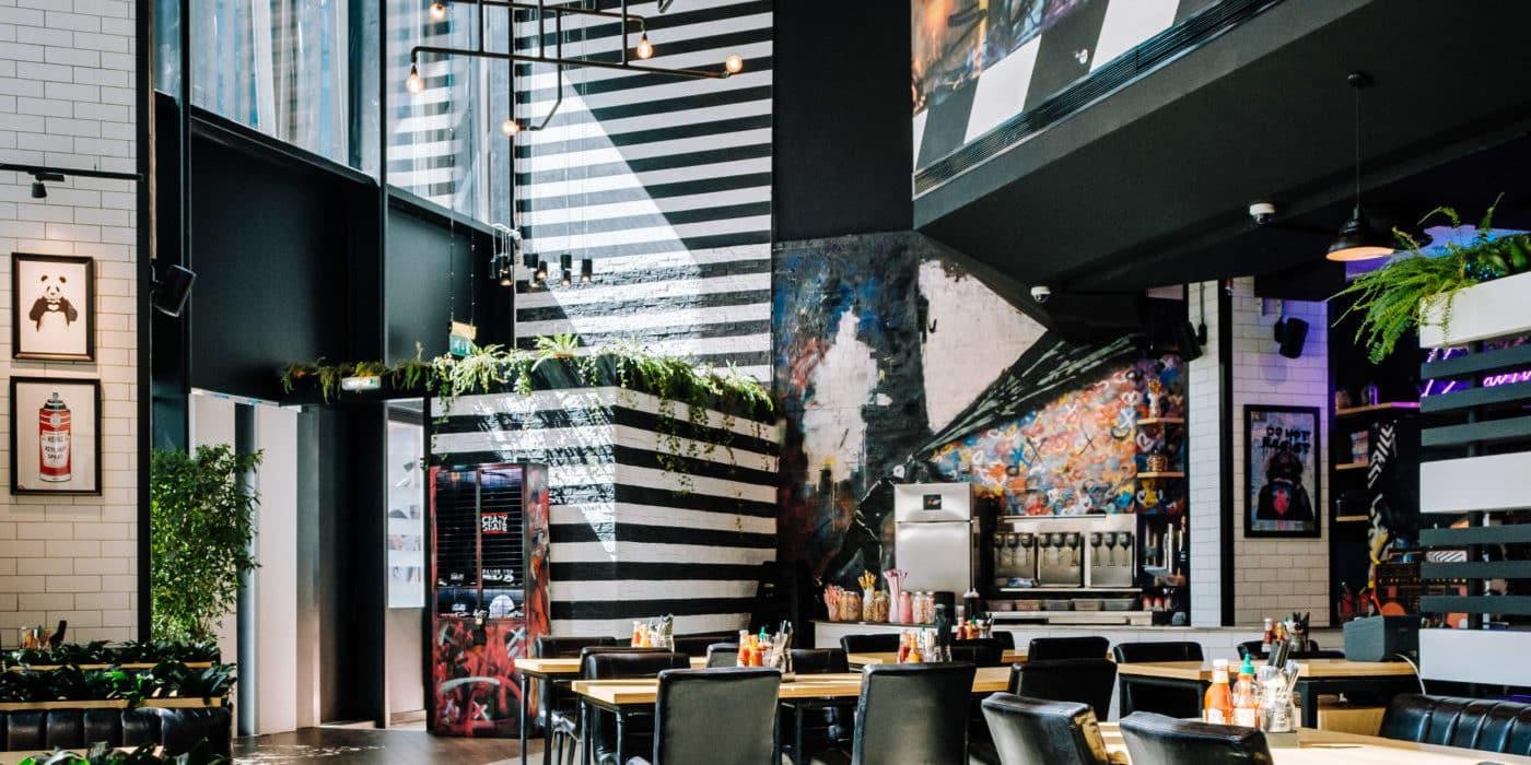 Перший Black Tap ресторан на Близькому Сході, який відкрився в Rixos Premium Dubai.