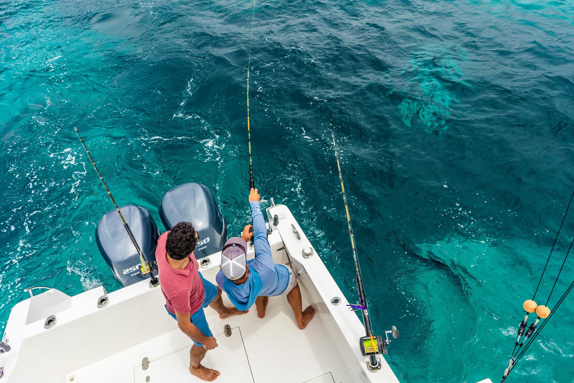 Остров Дерош, главный среди группы Амирантских островов — это настоящая мечта любого любителя рыбалки.