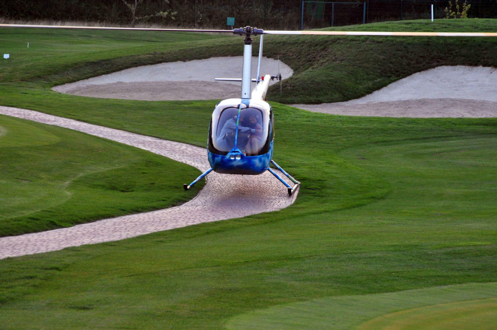 На территории Superior Golf & Spa Resort расположена сертифицированная вертолетная площадка, а с высоты птичьего полета открывается невероятные виды на гольф-поля.