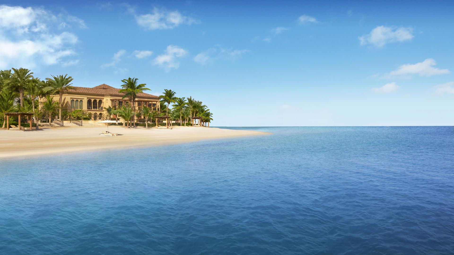 One & Only The Palm найусамітненіший пляжний курорт Дубая