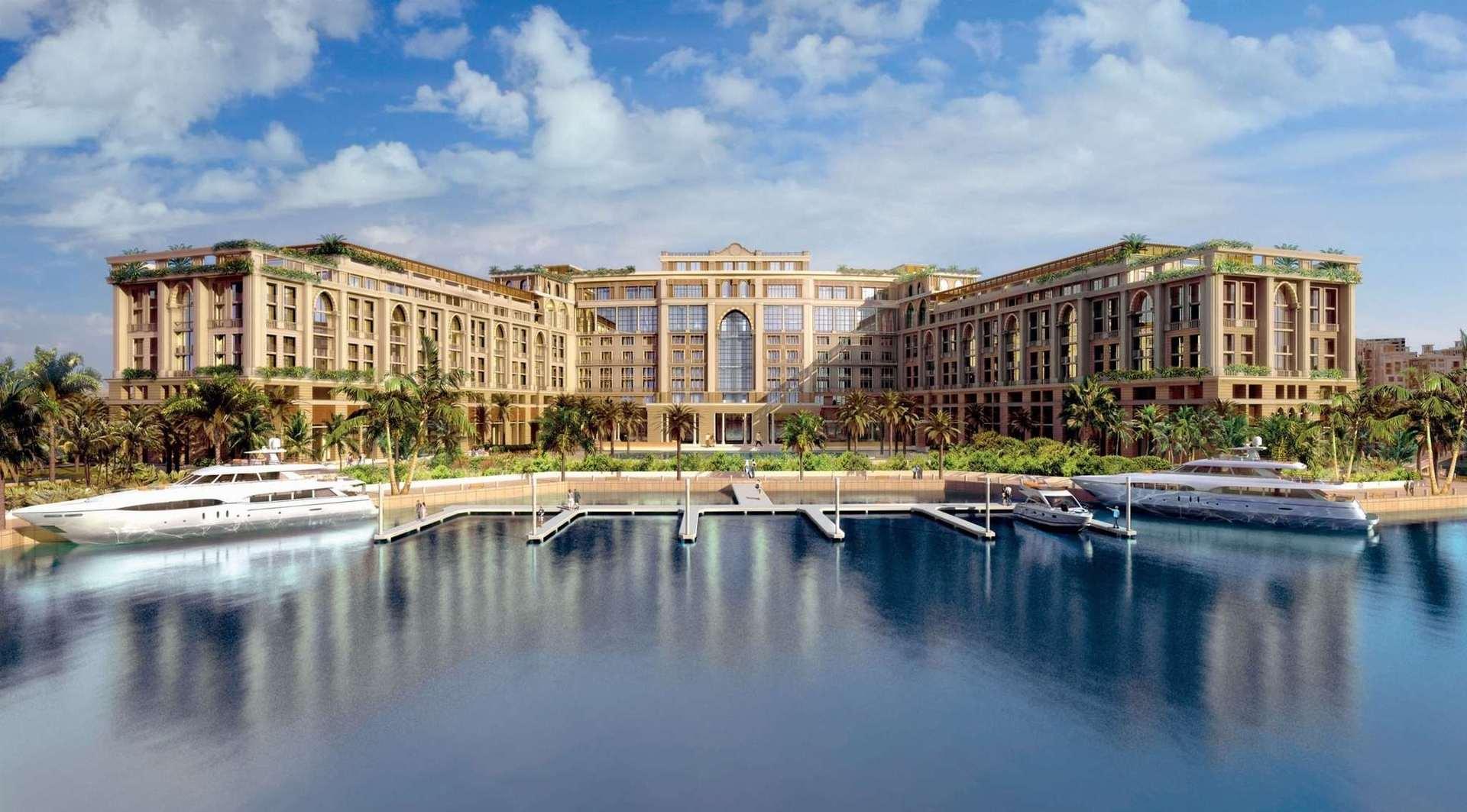 Готель Палаццо Версаче Дубай зручно розташований уздовж берега історичної Дубайської затоки, поїздка до центру міста триватиме всього 10 хв на авто.