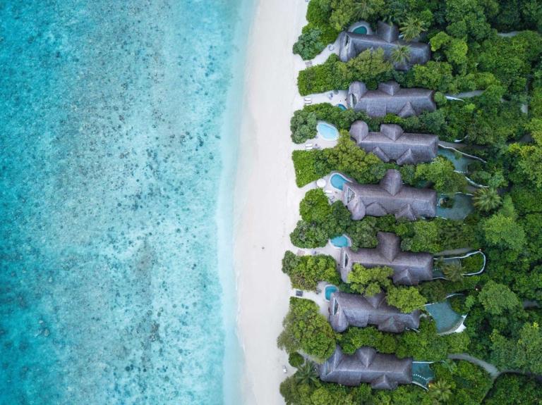 Winter on Maldives: SONEVA FUSHI 5*