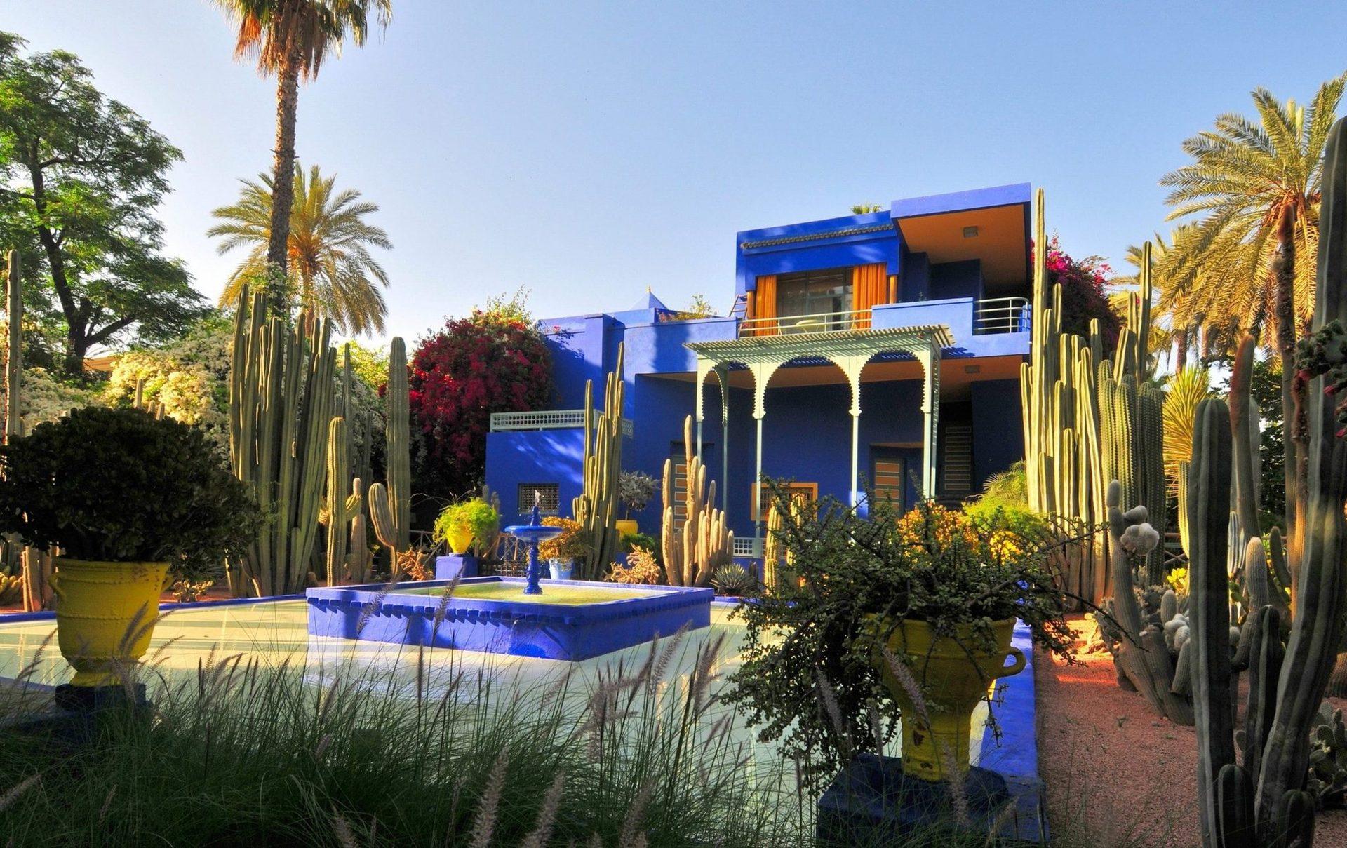 Мы с вами посетим яркий  и необычный оазис посреди суетливого Марракеша - Сад Мажорель
