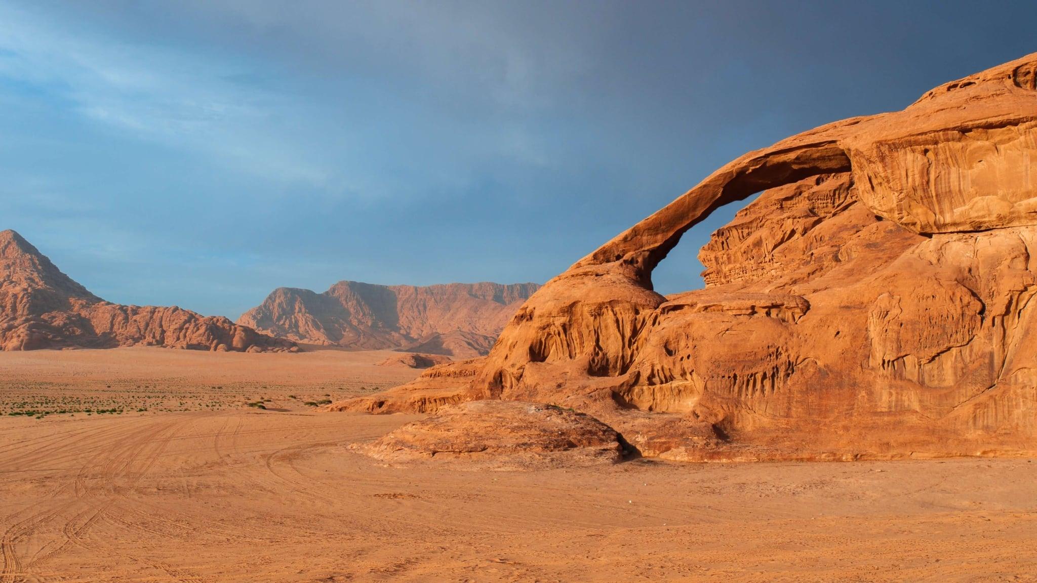 Пустыня - площадка для киносъемок